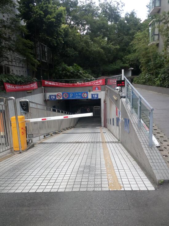 双流-棠湖帝景-升级安装车牌识别系统