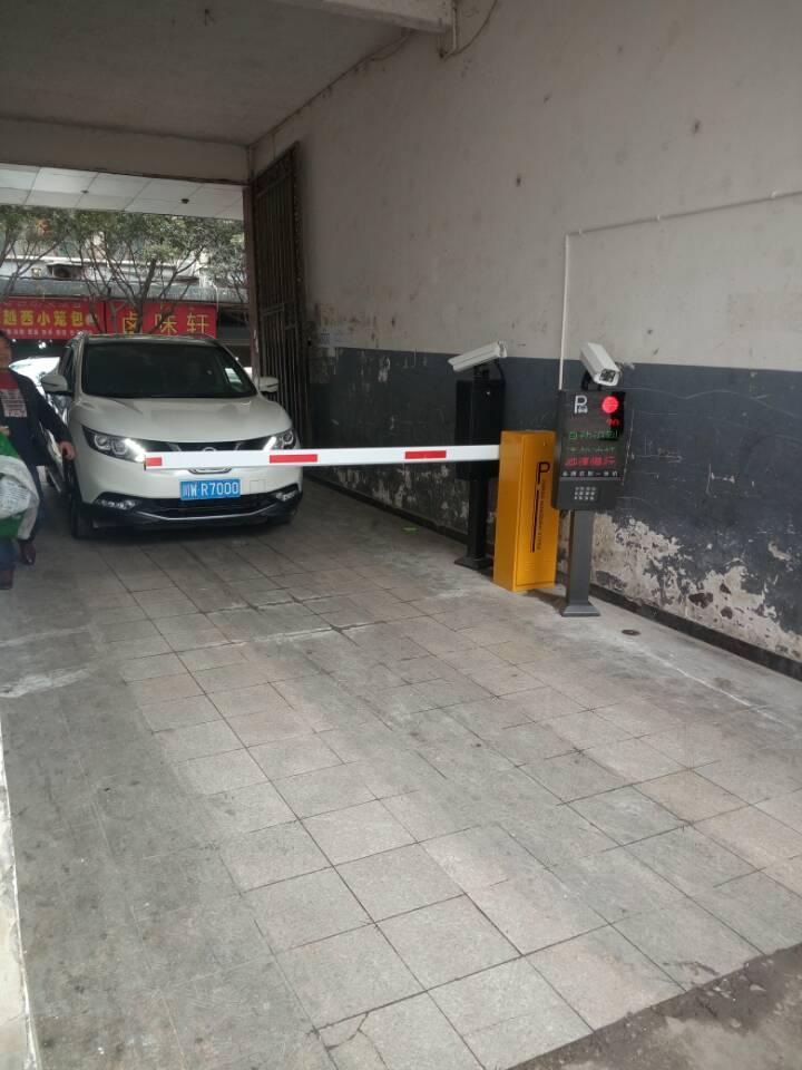 甘洛县-老武装部-安装车牌识别